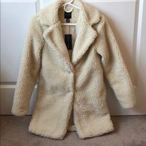 New Look Teddy Coat NWT
